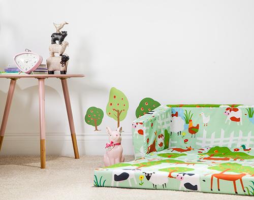 le farm design kinder bettw sche schlafzimmer m bel sammlung kindergarten ebay. Black Bedroom Furniture Sets. Home Design Ideas