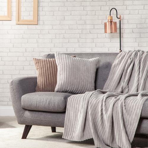 Jumbo Cord Soft Throw Over Sofa Protector Bed Spread