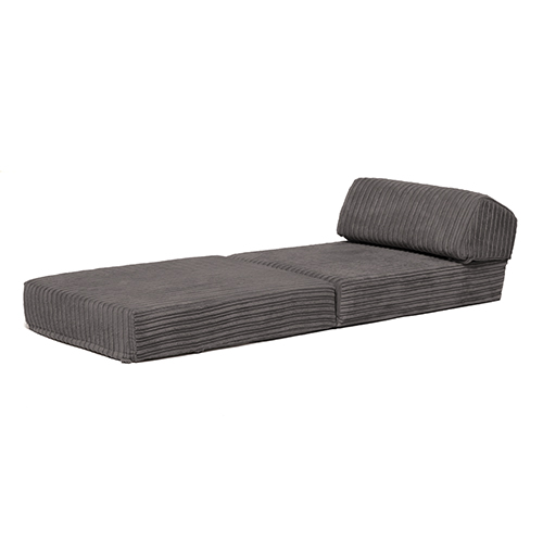bj rn jumbo kord einzeln sessel bett sofa z bett schaum ausklappbar gast futon ebay. Black Bedroom Furniture Sets. Home Design Ideas
