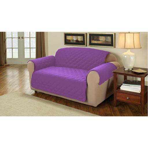 m belschutz gesteppt baumwolltwill sofa lehnstuhl abdeckung berwurf husse ebay. Black Bedroom Furniture Sets. Home Design Ideas