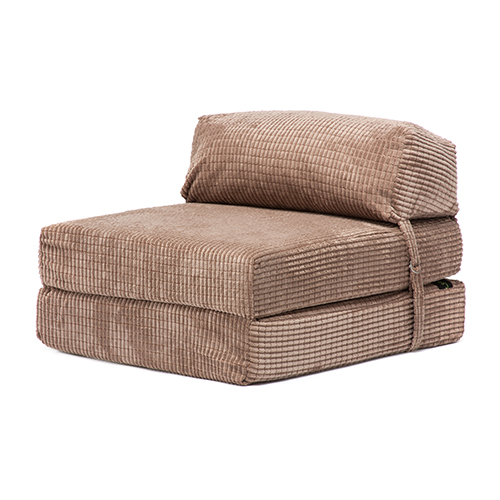 corduroy fold out single double guest z chairbed folding mattress sofa bed futon ebay. Black Bedroom Furniture Sets. Home Design Ideas