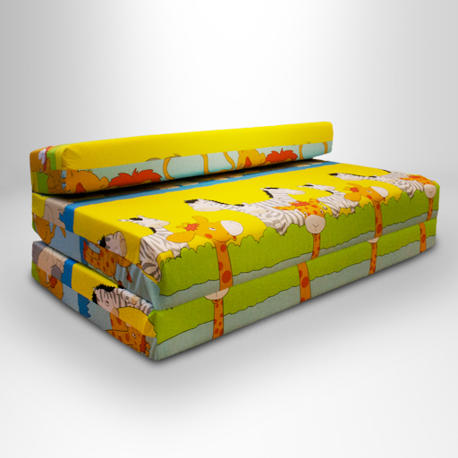 Childrens double guest folding z chair bed mattress sofa for Divan bed and mattress deals