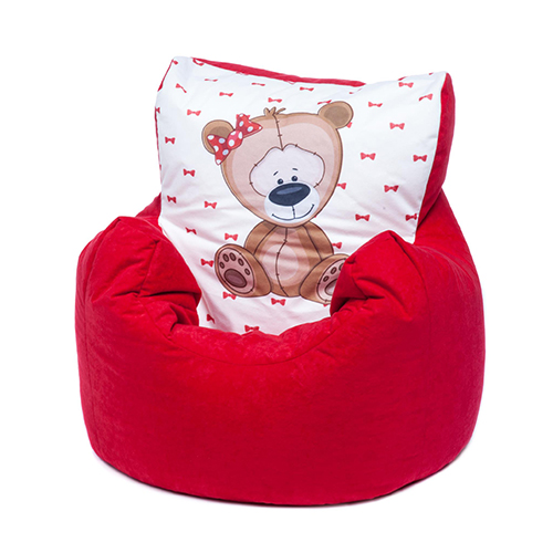 Strange Details About Red Bear Childrens Character Filled Beanbag Kids Bean Bag Chair Bedroom Pabps2019 Chair Design Images Pabps2019Com