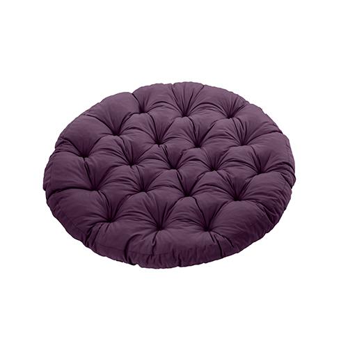 Gardenista Green Water Resistant Tufted Indoor Garden Chair Seat Pad Cushion