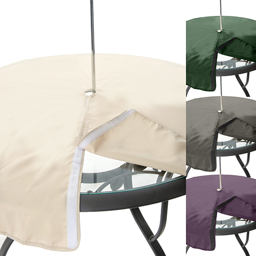 225 & Details about Gardenista Garden Table Covers Water Resistant Parasol Opening Outdoor