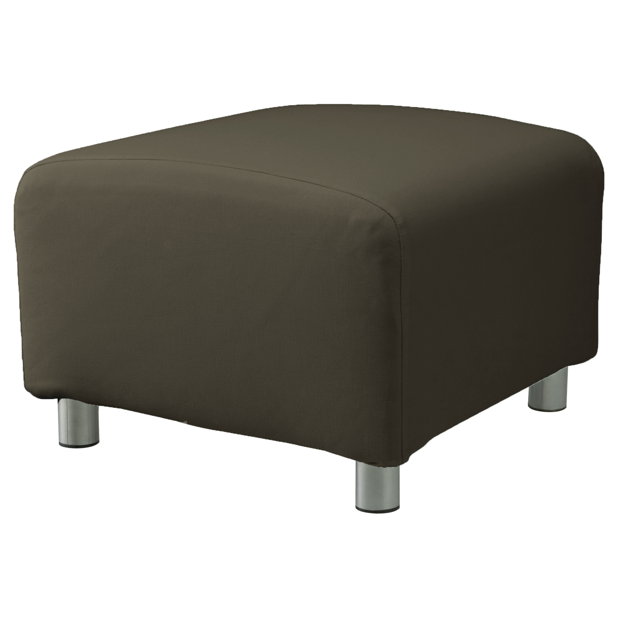Custom Slip Cover For Ikea Klippan Footstool 100