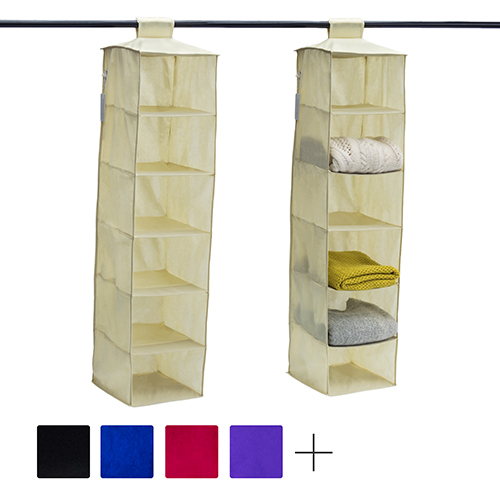 Verstellbar Kleiderschrank Regal Schrank Trennwand Trenner Organizer Halter