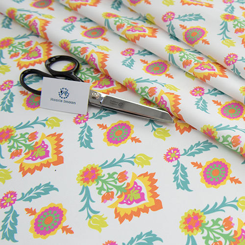 Geometric Print Upholstery Fabric Outdoor Water Resistant Cushion Curtain Craft