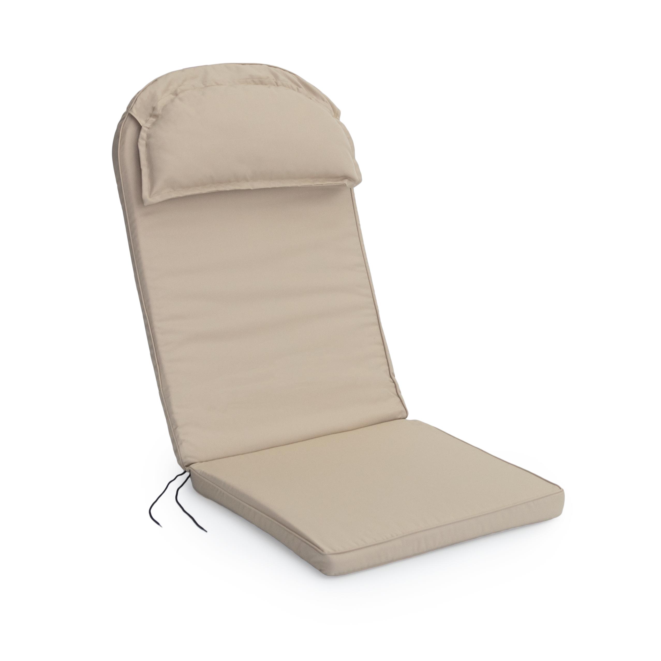 Coussin Pour Fauteuil Adirondack détails sur mobilier de jardin patio résistant à l'eau pierre coussin pad  pour adirondack chaise- afficher le titre d'origine