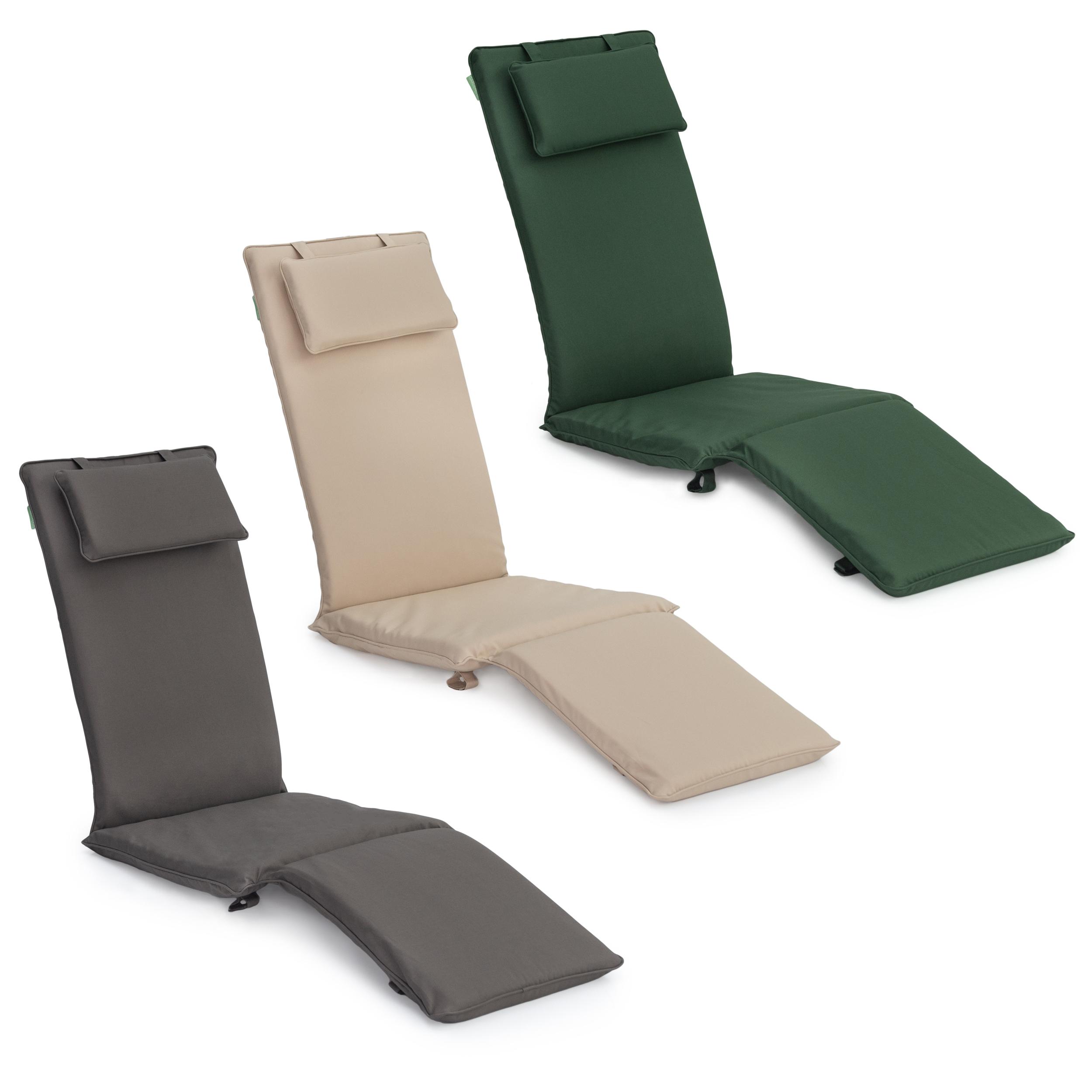 Garden Deck Steamer Chair Cushion Seat