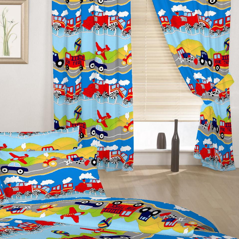 Enfants-rideaux-Maternelles-Enfants-Junior-Tweens-bandeau-superieur-et-plis-serres-tiebacks miniature 45