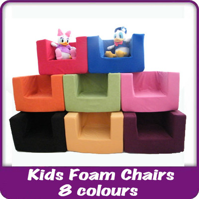 kids children s comfy chair toddlers foam armchair boys girls