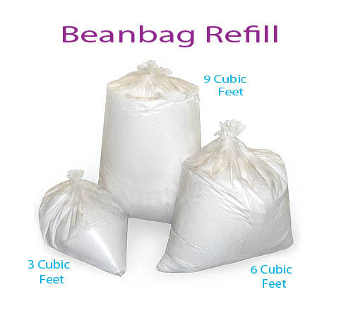 bean bag refill bean bag top up refill filler filling free post ebay 10783