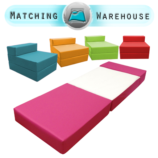 Children 39 S Wipe Clean Waterproof Fold Out Z Bed Sofabed Guest Bed Mattress Kids Ebay