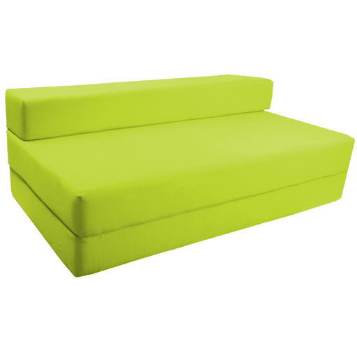 Fold out foam double guest z bed chair folding mattress for Where to buy futon mattresses