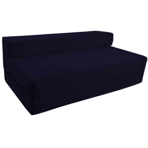 fold out foam double guest z bed chair folding mattress. Black Bedroom Furniture Sets. Home Design Ideas