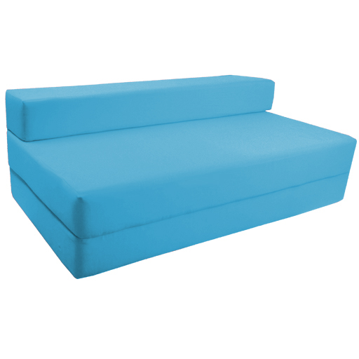 Charming Fold Out Foam Double Guest Z Bed Chair