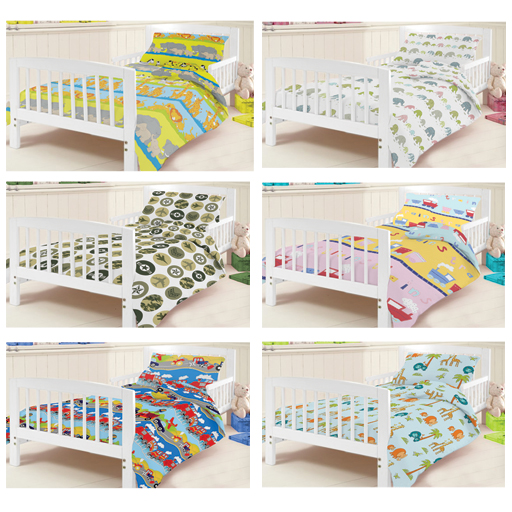 Ready Steady Bed Children S Kids Cot Junior Duvet Cover Bedding Set Cotbed
