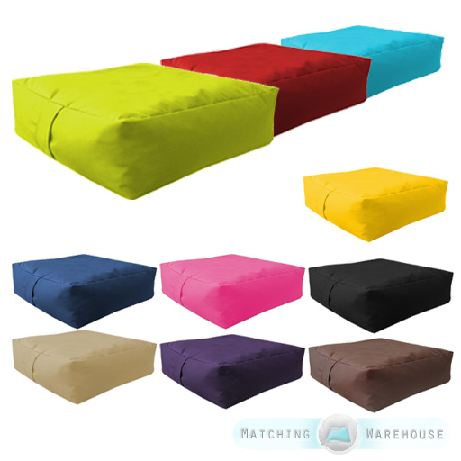 Garden Waterproof Bean Bag Slab Beanbag Outdoor Indoor Cushions Seat  Furniture Part 9