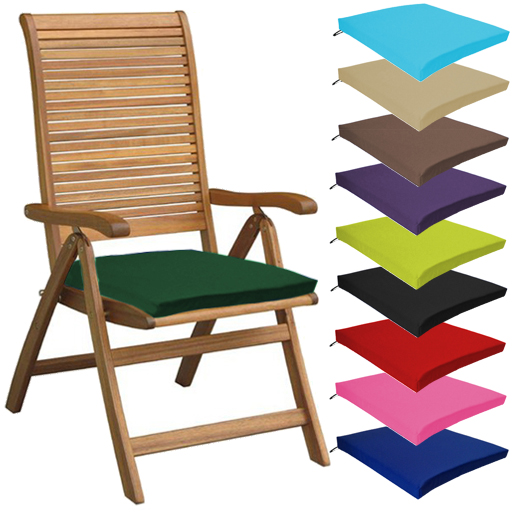 Merveilleux Multipacks Outdoor Waterproof Chair Pads Cushions ONLY Garden Patio  Furniture | EBay