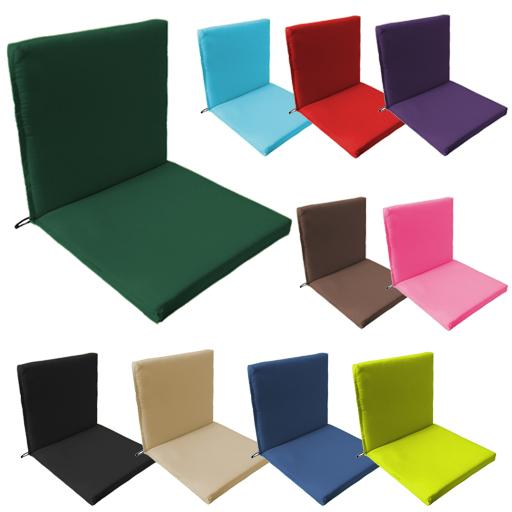 Back Seat Outdoor Waterproof Chair, Garden Furniture Cushions