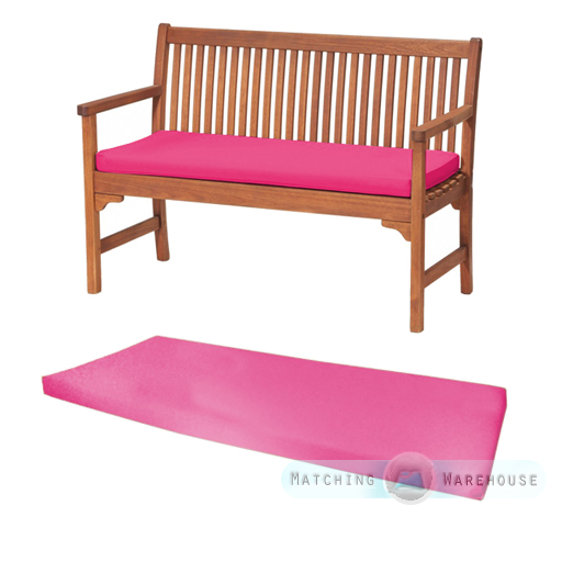 Outdoor Water Resistant 2 Seater Bench Swing Seat Cushion