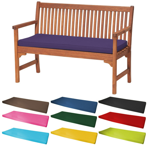 Outdoor waterproof seater bench swing seat cushion