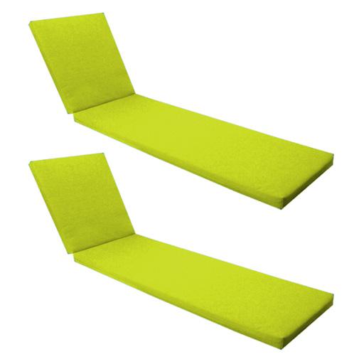 lounger recliner outdoor replacement cushion garden pads sun