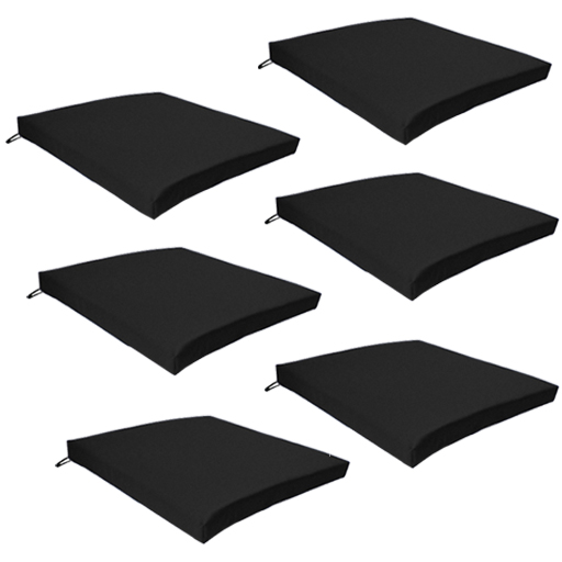 Fine Details About Black Outdoor Indoor Home Garden Chair Floor Seat Cushion Pads Only Multipacks Home Interior And Landscaping Oversignezvosmurscom