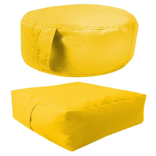 Pack-de-2-resistant-a-l-039-eau-Pouf-Dalle-ou-cercle-exterieur-interieur
