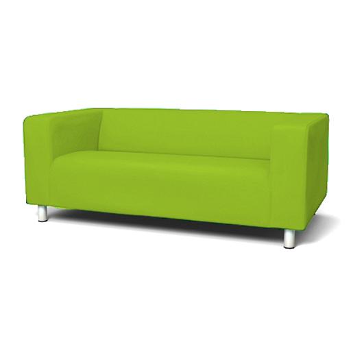 ma gefertigt vorderseite husse zum anpassen ikea klippan 2 sitzer sofa couch ebay. Black Bedroom Furniture Sets. Home Design Ideas