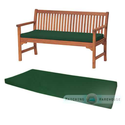 outdoor waterproof 3 seater bench swing seat cushion only garden furniture pad ebay