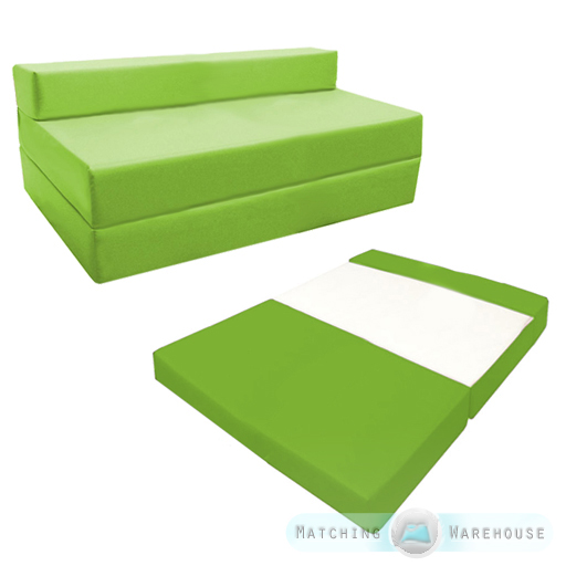 Fold Out Waterproof Double Guest Z Bed Chair Folding  : ZBD20B39820Lime from www.ebay.co.uk size 512 x 512 jpeg 172kB