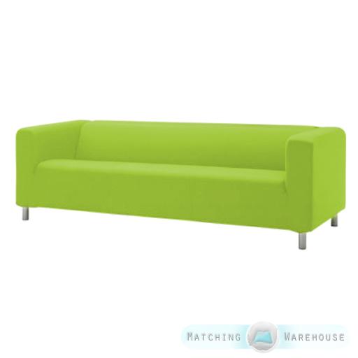 Slipcover for Ikea Klippan 4 Seater Sofa Cotton Twill Sofa Cover Throw Settee  eBay