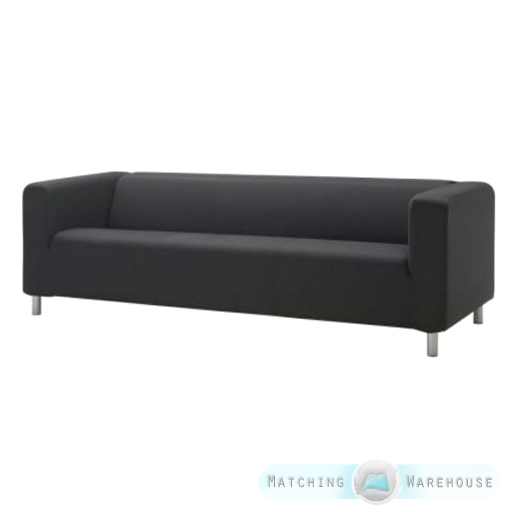 husse f r ikea klippan 4 sitzer sofa baumwolltwill sofa berwurf berwurf sofa ebay. Black Bedroom Furniture Sets. Home Design Ideas