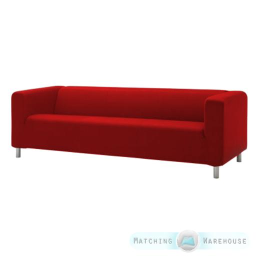 Genial Slipcover For Ikea Klippan 4 Seater Sofa Cotton