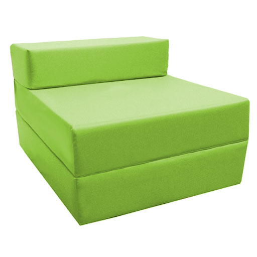 Phenomenal Details About Lime Green Fold Out Z Bed Futon Kids Sleepover Guest Chair Sofabed Mattress Caraccident5 Cool Chair Designs And Ideas Caraccident5Info