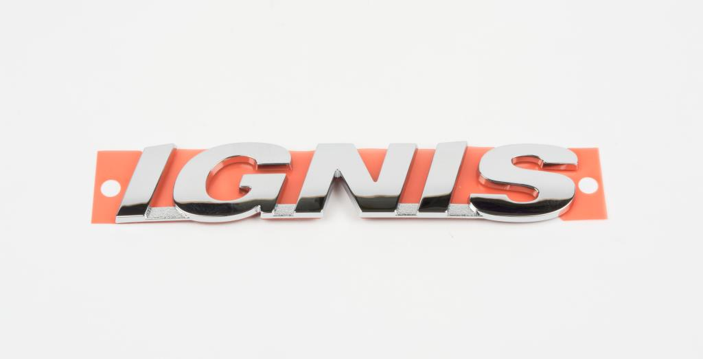 Genuine New SUZUKI IGNIS REAR DECAL Emblem Charcoal 2000-2003 GL 3D5 5DR SUV
