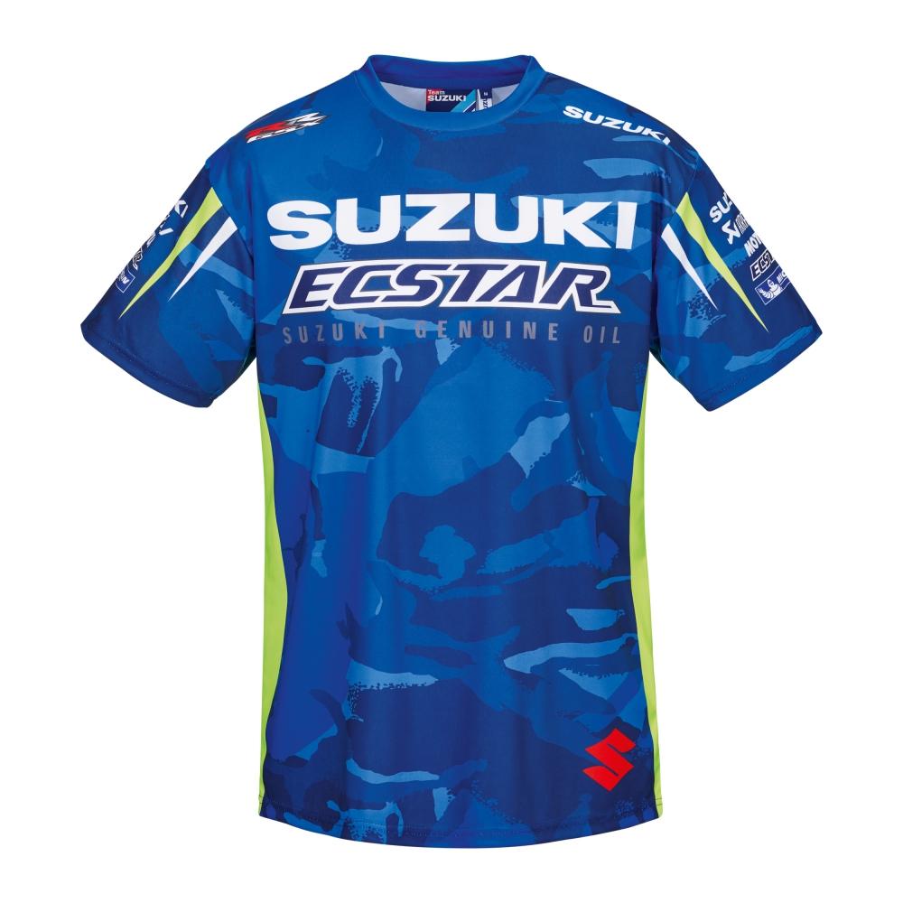 genuine suzuki 2017 motogp team all over print t shirt. Black Bedroom Furniture Sets. Home Design Ideas
