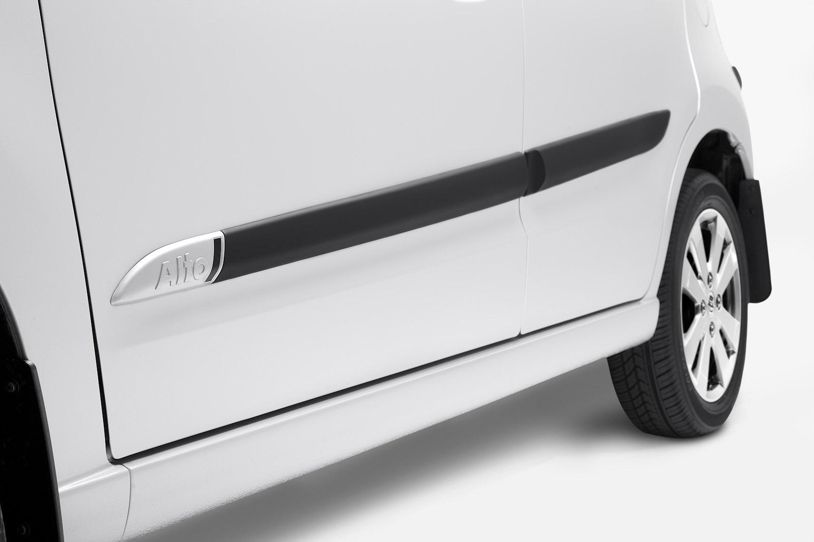 Moulding Side Protector Door Protection for Suzuki Alto 5-doors 2009-2013
