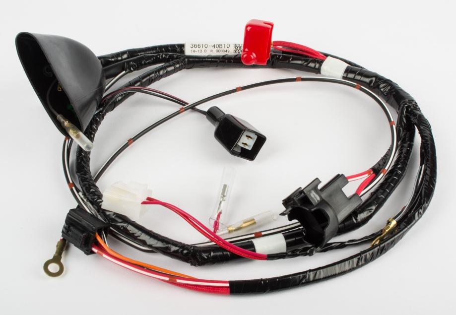 Suzuki Genuine ATV Quad LT80 Models T V W X Wiring Harness 36610 – Lt80 Wiring Harness