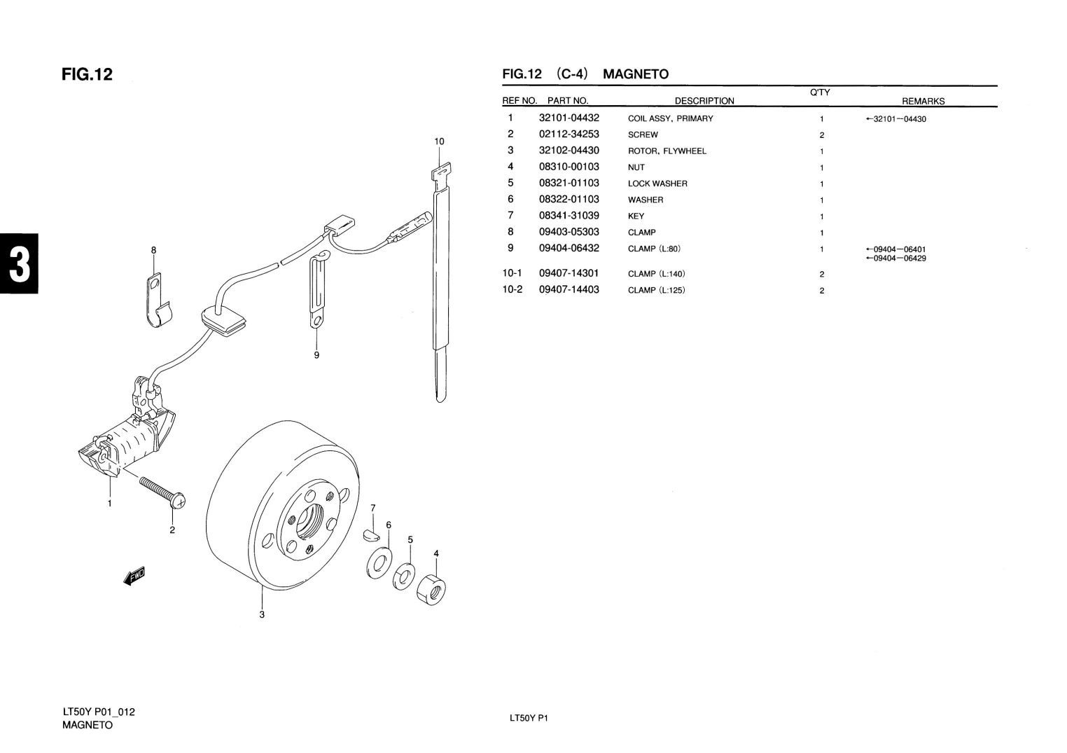 Suzuki Lt50 Magneto Diagram Great Installation Of Wiring Lt 50 Genuine Mini Atv Quad Primary Coil Assy 32101 Rh Ebay Com Jr50