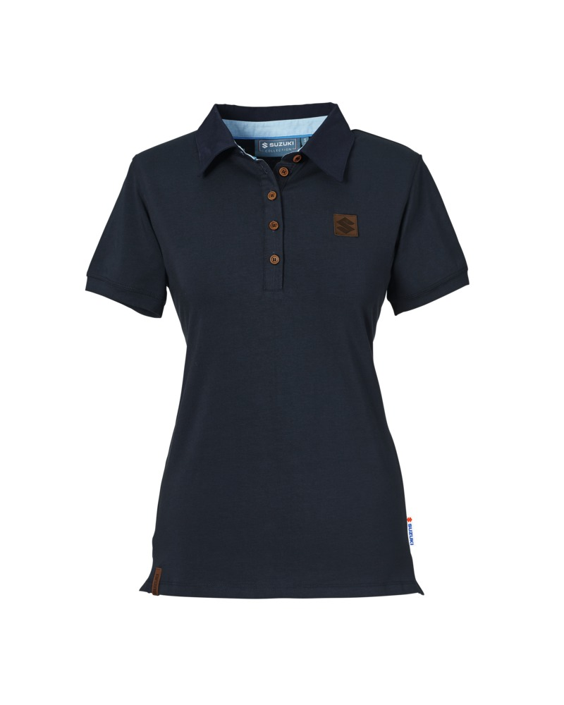 f1f8b17231f Details about Genuine Suzuki Urban Classic Ladies Polo Shirt Lady Tee Top  Short Sleeve