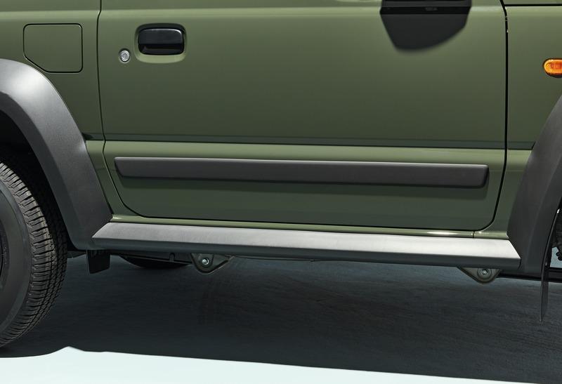 Details About Genuine Suzuki Jimny Side Body Moulding Set Black 990e0 78r07 000