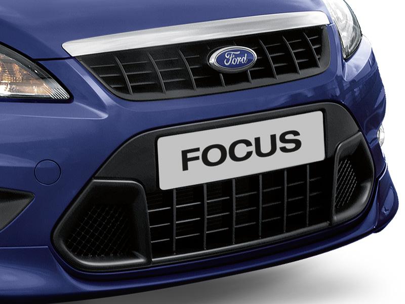 genuine ford focus front grille lower grille insert in. Black Bedroom Furniture Sets. Home Design Ideas