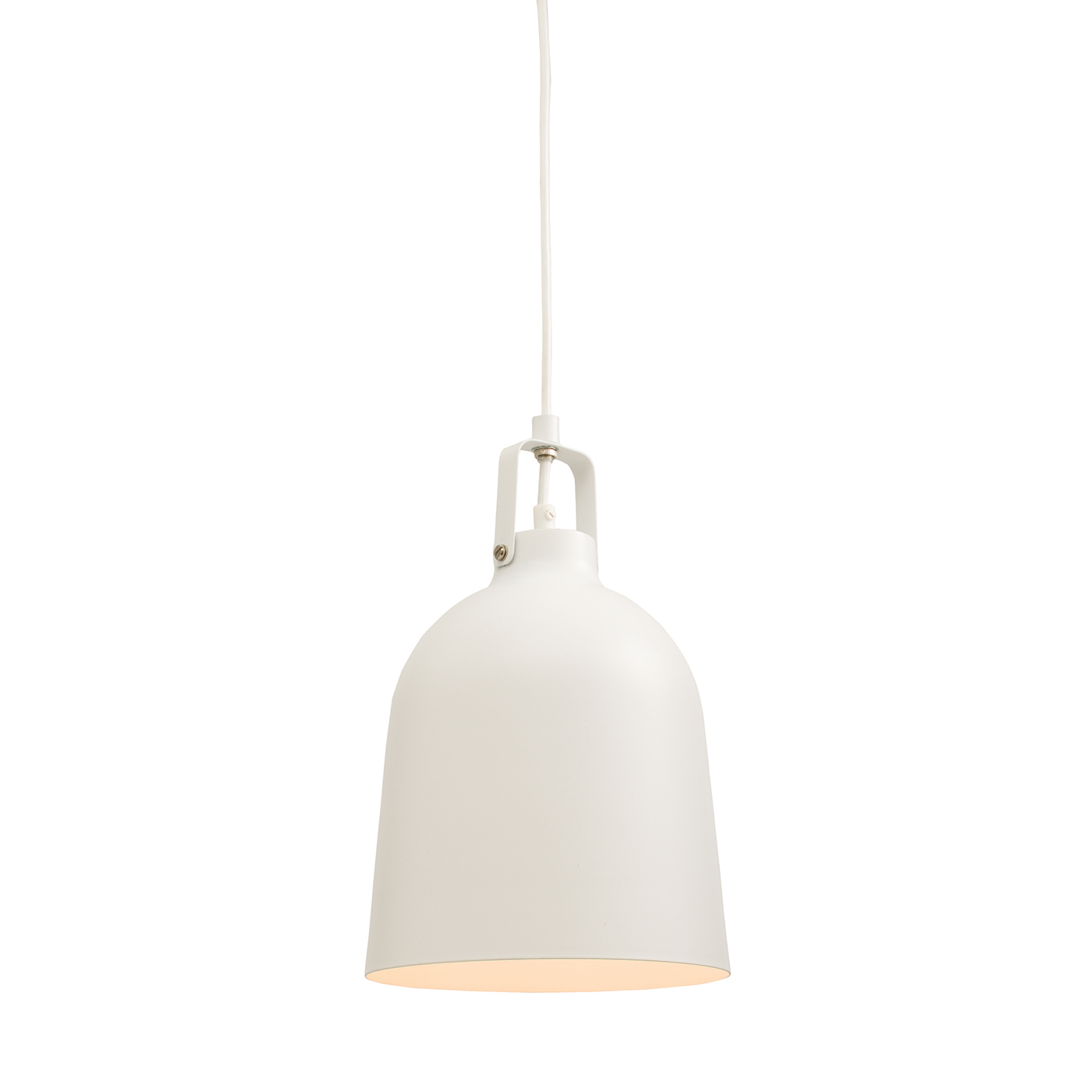 Endon Lazenby pendant 1x 60W Matt white paint