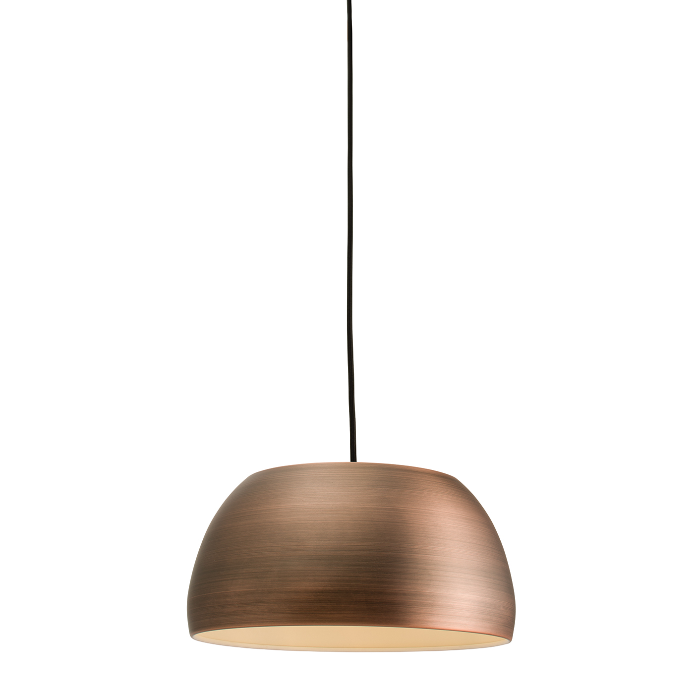 Endon Connery pendant 1x 60W Matt bronze effect plate Thumbnail 1
