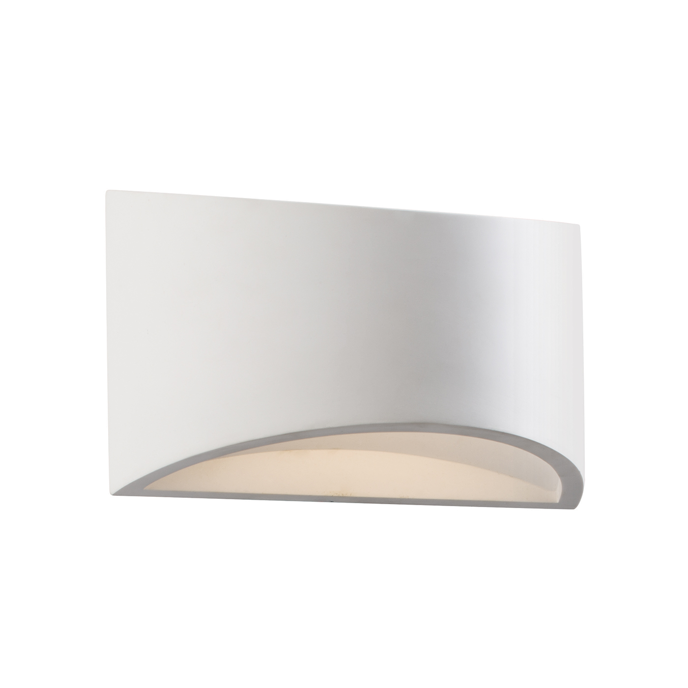 Endon Toko 1lt 200mm wall light 3W White plaster Thumbnail 1