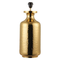Endon Suri base only table lamp 60W Brass effect plate