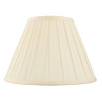 Endon Carla lampshade 6 inch Cream tc fabric 120mm H x 150mm D max.